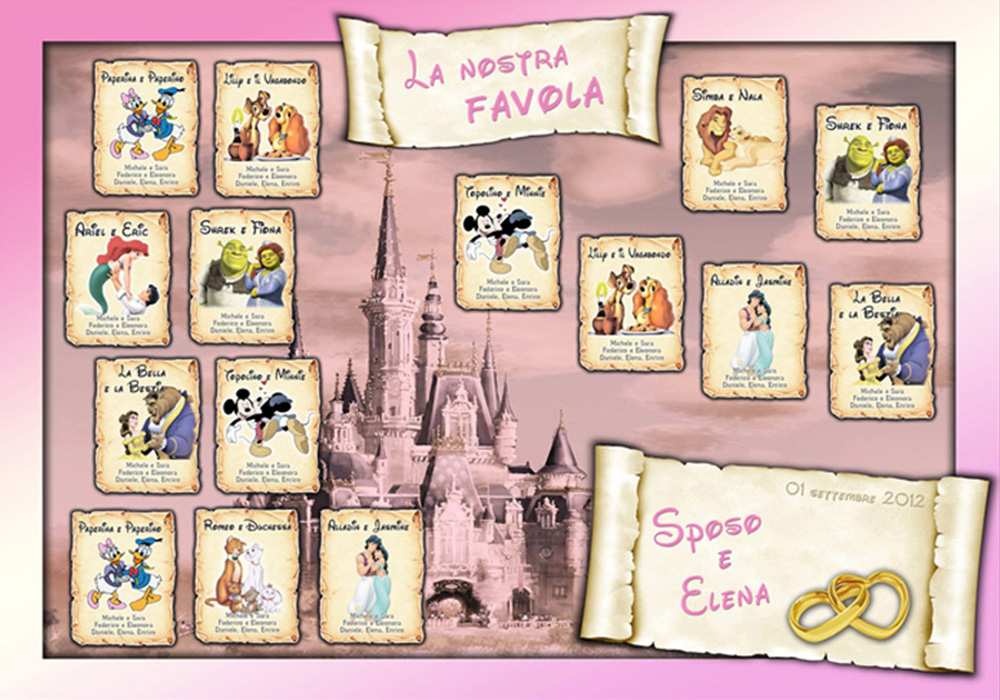 Tableau battesimo disney va regardsdefemmes