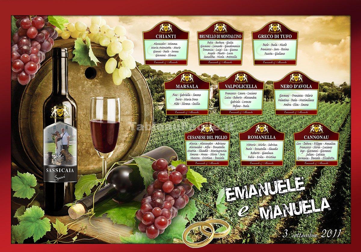 Tableau vini famosi italiani v